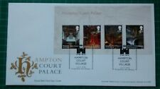 2018 Hampton Court Palace Miniature Sheet FDC Bridge Road POSTMARK
