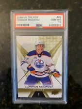 2016 Upper Deck TRILOGY #25 CONNOR MCDAVID.......PSA 10!