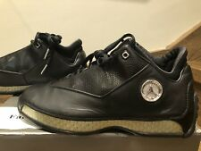 DS OG Air Jordan XVIII 18 Low  Sz 8 Black Chrome Bred Space Jam