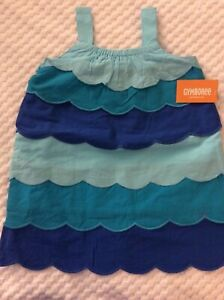 2T Girls' Gymboree Blue Under The Sea Themed Dress-NEW WITH TAGS!