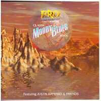JUSTIN HAWYARD & FRIENDS Classic Moody Blues Hits CD w/ Michael Sadler of Saga