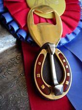 Ultra RARE Vintage GUCCI Bottle Opener Barware Equestrian Enamel Service Piece