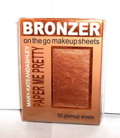 "Mary Kate & Ashley Paper Me Pretty ""On the Go"" Bronzer Sheets~Bronze #814"
