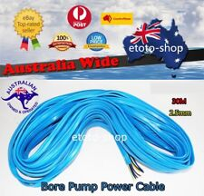 Submersible Water Bore Pump Electric Power Cable 30 Meter Heavy Duty