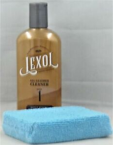 LEXOL LEATHER CLEANER 8OZ Applicator BOOTS SOFA COUCH SHOES CHAPS SADDLE