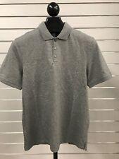 Calvin Klein Short Sleeve Mens Polo Grey Size M, L, XL Style 40O8312 NEW