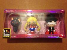 SDCC 2017 Exclusive Sailor Moon Monogram Keychain 3 Piece Set