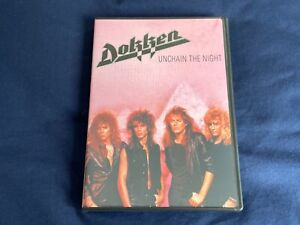 DOKKEN - Unchain the Night DVD + From Conception Live 1981 CD *VG~NEW*