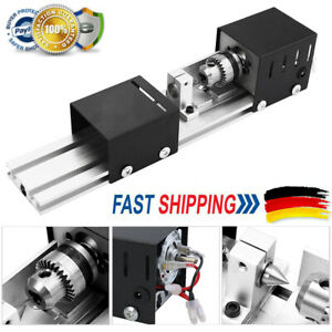 100W 24V Mini Drehmaschine Drechselbank Perlen Poliermaschine DIY Werkzeug N6J3