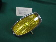NOS vintage Aris amber hooded fog light/driving lamp rectangular Jaguar/chopper