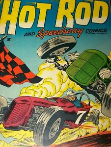 Hot Rod and Speedway Comics 1 Hillman 1952