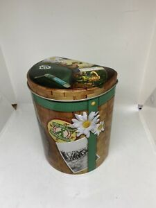 Girl Scout Cookie Backpack Shaped Tin Container