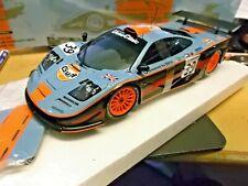 McLAREN BMW F1 GTR Langheck Le Mans 1997 #39 Bellm Sakyi Gulf Minichamps SP 1:18