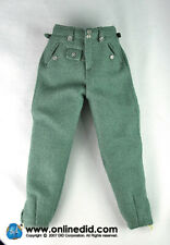 WWII German SS Panzer Abteilung 101 Tanker Trouser 1/6th Scale by DID