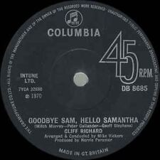 "GOODBYE SAM, Hello Samantha 7 "" : CLIFF RICHARD"