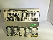 Jazz Collector Edition Music 5CDs Box Set - Duke Ellington-Billie Holiday-1991