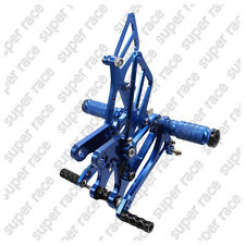 5 days offer!!CNC Rearsets Footrest For Kawasaki ZX6R 05-08 ZX636 05-06 Blue