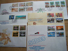 ZIMBABWE,6 DIFFERENT FDCS,EXCELLENT.