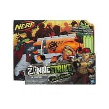 NERF Zombie Strike Hammer Shot Foam Darts Toy Gun Target Blaster Walking Dead