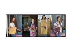 Sloggers Chicken Print Aprons and Totes Yellow or Red