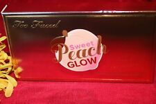 TOO FACED SWEET PEACH GLOW INFUSED HIGHLIGHTING PALETTE IN BOX 100% AUTHENTIC