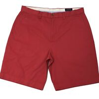 "Polo Ralph Lauren Chino Shorts Blush Red Stretch Classic Fit 9"" - 29"" / 34"" W"