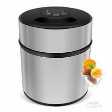 2.1 Quart Automatic Ice Cream Maker Freezer Bowl Yogurt & Sorbet Dessert Machine
