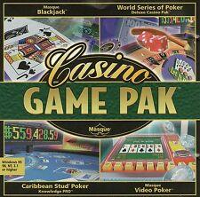 Casino Game Pak (Pack) | Black Jack plus | Win 95 98 xp | 7 8 10 voir annonce