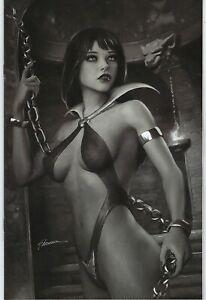 Vampirella # 24 Shannon Maer 1 in 21 Virgin Variant Black & White Cover !!    NM