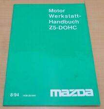 MAZDA Motor Z5-DOHC Instandsetzung Schmierung Reparatur Werkstatthandbuch