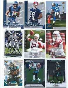 Huge Lot of 300 Different Penn State Alumni Football Cards; 1989-2017