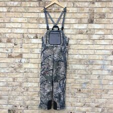 Sitka Celsius Mens Bib Overalls Sz M Med Mothwing Mountain Mimicry 2.0 Camo Gear