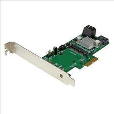 StarTech.com 3 Port PCI Express 2.0 SATA III 6 Gbps RAID Controller Card with