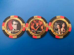 Inkworks James Bond-The World Is Not Enough: Complete Casino Poker Chip Set (3)