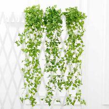 Hanging Artificial Ivy Leaf Garland Plants Vine Fake Foliage Flower Home Decor