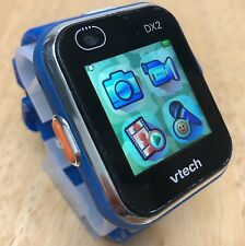 Vtech DX2 Kidizoom Black Blue Dual Camera LCD SmartWatch Watch Hours~USB Cable