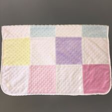 VGUC Circo Patchwork Minky Blanket with Pink Sherpa Backing Target Pink Purple