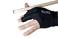 Billard 3 Finger Handschuh Dynamic ELITE schwarz 100% Elast. - Billardhandschuh