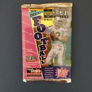 """UPPER DECK - """"COLLECTOR'S CHOICE PACK"""" SEALED - DAN MARINO 1996 LOOK!"""