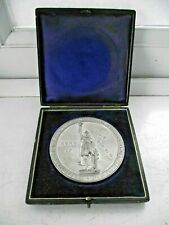 ANTIQUE 1901 ALFRED THE GREAT 1000th ANNIVERSARY LARGE MEDALLION WINCHESTER 108g