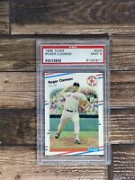 1988 Fleer #349 Roger Clemens Boston Red Sox PSA 9 MINT