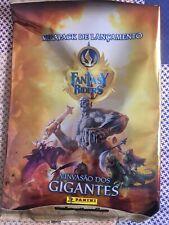 PANINI FANTASY RIDERS II INVASÃO DOS GIGANTES BINDER + SET COMPLETE 396 CARDS