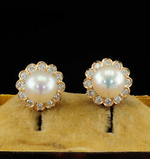 Pearl Earrings Vintage Fine Jewellery (1980s)