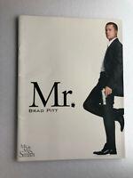 "Japan movie souvenir program ""Mr. & Mrs. Smith"" Brad Pitt, Angelina Jolie【M04】"