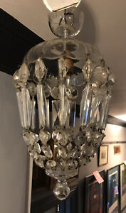 Good Quality French Crystal Bag Chandelier (Oval Facets)