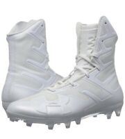 NEW Under Armour Sz 11 Highlight MC Football/Lacrosse Cleats White 3000177-101