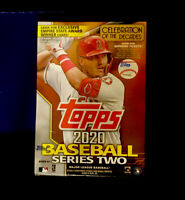 2020 TOPPS SERIES 2 BASEBALL BLASTER BOX 98+1 MEDALLION CARD-Mike Trout Cover