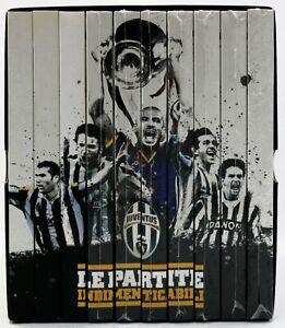 EBOND Juventus Le Partite Indimenticabili Collezione 10 DVD Completa D572402