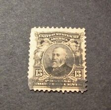 US Stamp Scott#  308 Harrison 1902-03  C459