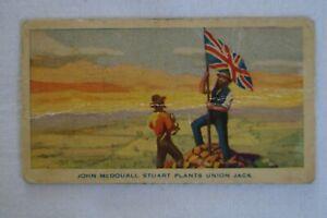 Hoadley's Chocolates Vintage Australia Birth of a Nation John McDouall Stuart